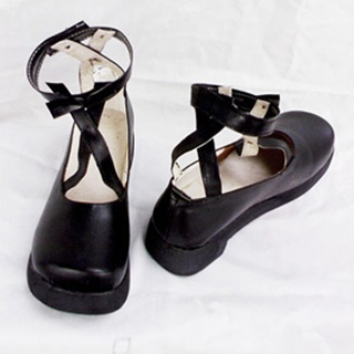 PU Leather Cosplay Shoes