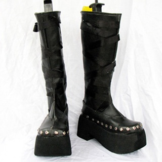 LUX-PAIN Natsuki Venefskuja PU Leather Cosplay Boots