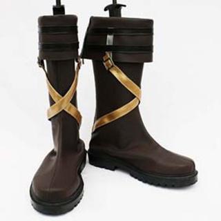 The Legend of Heroes ZERO NO KISEKI Lloyd Bannings PU Leather Cosplay Boots