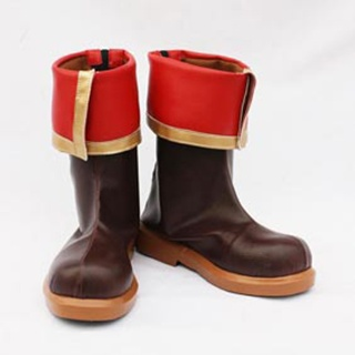 Tales Weaver Ispin Charles PU Leather Cosplay Boots