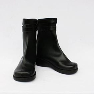 Hitman Reborn Skull PU Leather Cosplay Boots