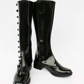 GOSICK  Victorique De Blois PU Leather Cosplay Boots
