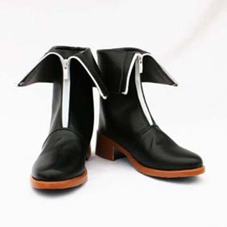 Okami-san koyamakimiko Morgan le Fay PU Leather Cosplay Boots
