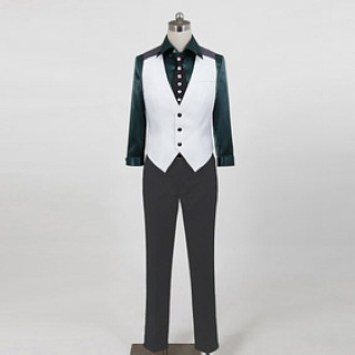 Tiger & Bunny  Kotetsu T. Kaburagi/Wild Tiger second edition Cosplay Costume
