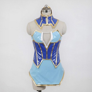 Tiger & Bunny  Karina Lyle/Blue Rose Cosplay Costume