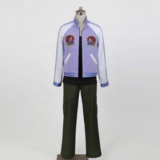即納◆ TIGER & BUNNY 折紙サイクロン/イワン·カレリン コスプレ衣装 豪華版 女性S