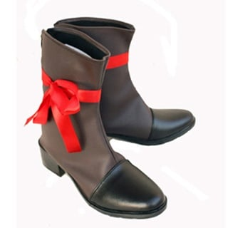 Axis Powers hetalia France PU Leather Cosplay Boots