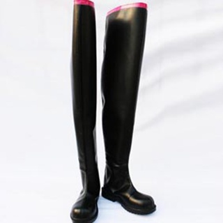 VOCALOID Miku PU Leather Cosplay Boots