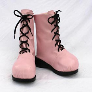 Pokemon Pulin PU Leather Cosplay Boots