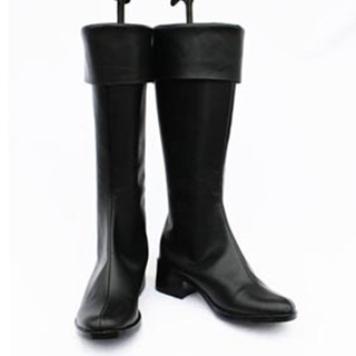Infinite Stratos Shinonono Houki PU Leather Cosplay Boots