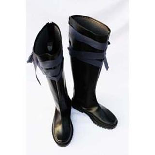 テガミバチ ノワール ブラック 合皮  コスプレ靴