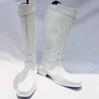 Beat Angel Escalayer Male PU Leather Cosplay Boots