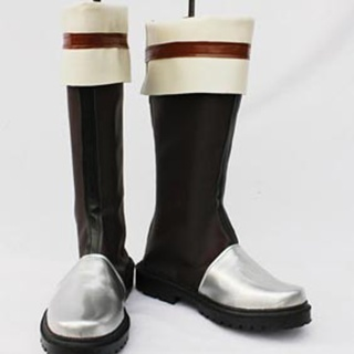 The Legend of Heroes ZERO NO KISEKI Kurz Nardin PU Leather Cosplay Boots