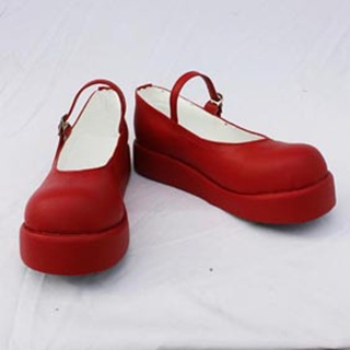 Umineko no Naku Koro ni PU Leather Cosplay Shoes