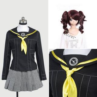 ペルソナ4 八十神高等学校 久慈川りせ 女子制服 衣装+ウイッグ 2点セット