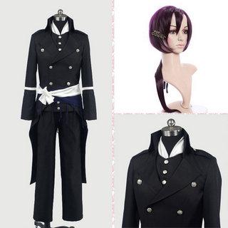 薄桜鬼 斎藤一(洋装) 衣装+ウイッグ 2点セット