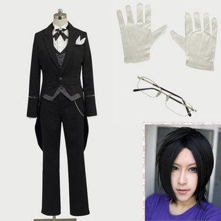 黒執事II クロード・フォースタス 衣装+ウイッグ 2点セット