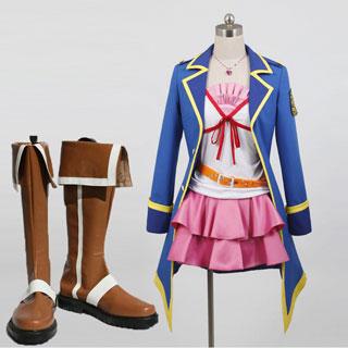 探偵オペラ ミルキィホームズ Genius4 遠山咲 衣装+ブーツ 2点セット