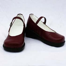 黒執事 エリザベス・ミッドフォード ワイン 合皮  コスプレ靴