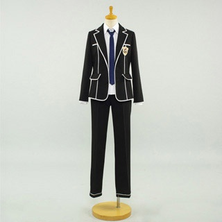Guilty Crown  Shu Ouma unifor male  Cosplay Costume