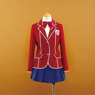 Guilty Crown  Hare Menjou uniform female Cosplay Costume