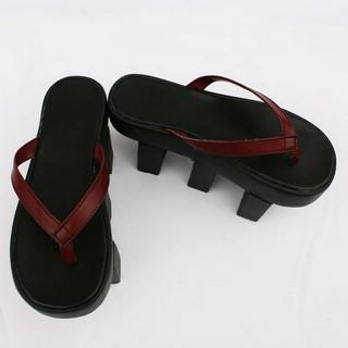 VOCALOID  MEIKO ブラック 合皮 ゴム底 ハイヒール コスプレ靴