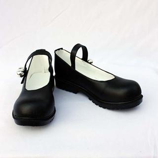 UN-GO 因果(いんが)ブラック 合皮  コスプレ靴