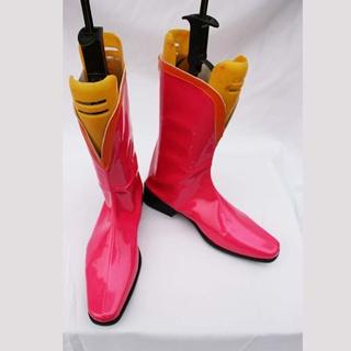 TIGER & BUNNY ファイヤーエンブレム ピンク  コスプレ靴