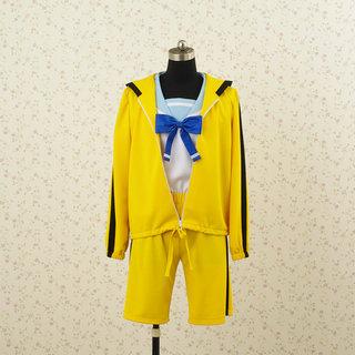 Bakemonogatari Koyomi Araragi Cosplay Costume