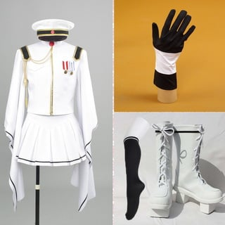 VOCALOID 初音ミク 千本桜 コスプレ衣装+靴 2点セット
