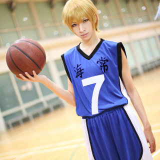 Kuroko\'s Basketball KAIJO Kise Ryota Cosplay Costume(No. 7)