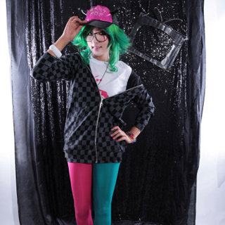 VOCALOID HI-FI RAVER GUMI Cosplay Costume