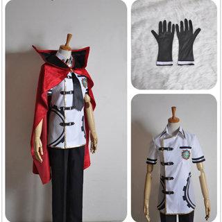 Final Fantasy Type-0 Machina Kunagiri man summer suit Cosplay Costume