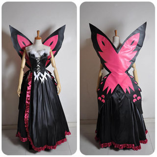 Accel World Kuroyukihime new Deluxe Cosplay Costume