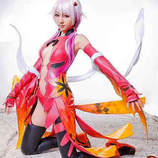 Guilty Crown Shogisha Yuzuriha Inori Deluxe Cosplay Costume