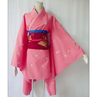 銀魂 柳生家 柳生九兵衛(やぎゅう きゅうべえ) 着物風 コスプレ衣装
