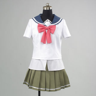 Upotte!!  Seisho-School girl uniform Cosplay Costume