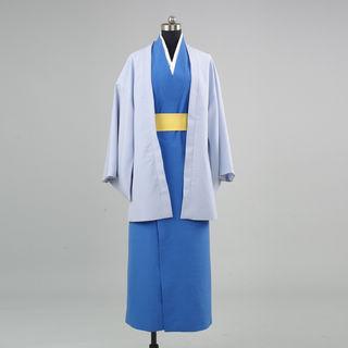銀魂 攘夷党(桂一派) 桂小太郎(かつら こたろう) 着物風 コスプレ衣装