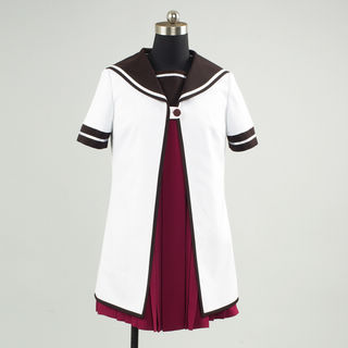 YuruYuri Nanamori Middle School Girl Summer School Uniform Cosplay Costume