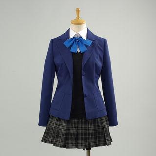 Kokoro Connect Yamaboshi Private High School School Girl Summer Uniform Cosplay Costume