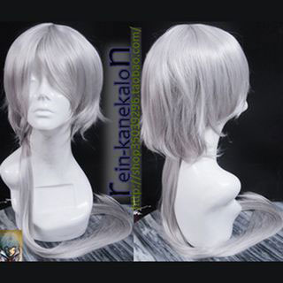 Sound Horizon Roman Hiver silver gray Medium Cosplay Wig