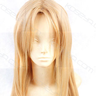 Sword Art Online Asuna Yuuki  Brown Long Straight Cosplay Wig