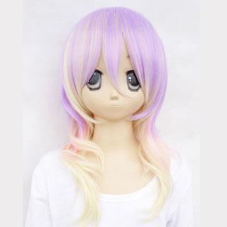 Kuroko's Basketball Atsushi Murasakibara Pastel Purple Gold Medium Cosplay Wig