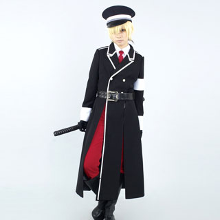 VOCALOID Hatsune Kagamine Len Military Uniform Cosplay Costume