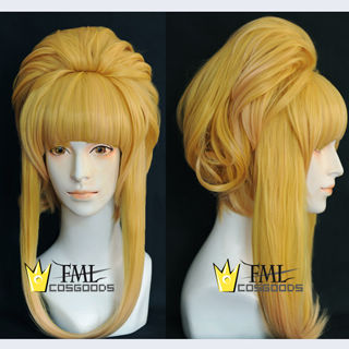 Sound Horizon Marchen Garasu no Hitsugi de Nemuru Himegimi Gold Medium Cosplay Wig