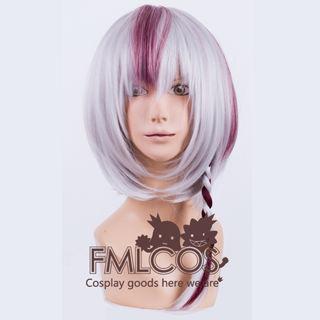 Sound Horizon Marchen MISIA Silver+Wine Short Cosplay Wig