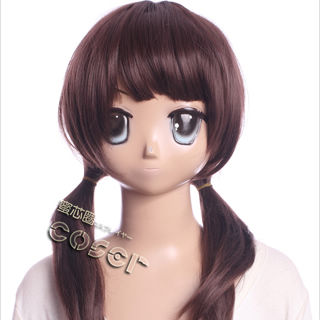 TARI TARI Sawa Okita Wine Medium Cosplay Wig