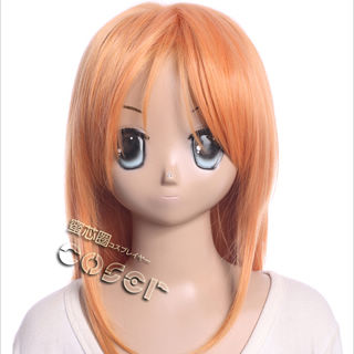 TARI TARI Konatsu Miyamoto Orange Long Cosplay Wig