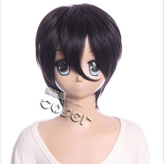 Sword Art Online Kirigaya Kazuto/Kirito Brown Short Cosplay Wig