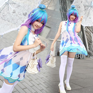 VOCALOID3 蒼姫ラピス コスプレ衣装